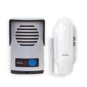 Interfone Porteiro Eletrônico AGL ABS Linha P10-S