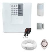 Kit Alarme Residencial Bopo 2 Sensores Sem Fio e Discadora
