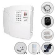 Kit Alarme Residencial PPA 12 Sensores Sem Fio e Discadora