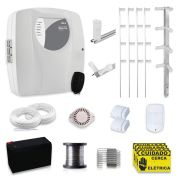 Kit Cerca Elétrica com Alarme Genno 70 Metros com 3 Sensores