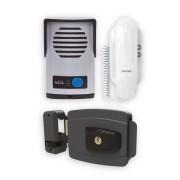 Kit Interfone Porteiro Eletrônico AGL + Fechadura Elétrica 12V