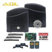 Kit Motor de Portão Deslizante AGL Trino 300 1/4 HP