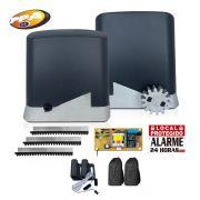 Kit Motor de Portão Deslizante PPA Dz Home 300 1/4 Hp