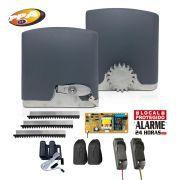 Kit Motor de Portão Deslizante PPA Dz Rio 400 1/4 HP + Sensor Fotocélula