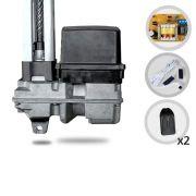 Kit Motor de Portão Eletrônico Basculante PPA BV Home Smart