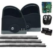 Kit Motor de Portão Eletrônico de Correr RCG Slider AL Fast 1/4 HP