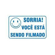Placa de Advertência: Você Está Sendo Filmado