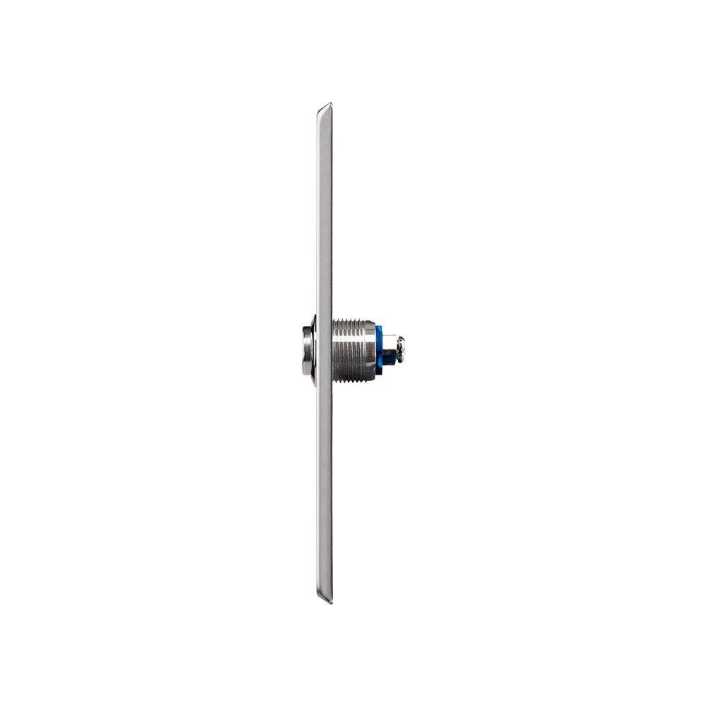 Acionador Abertura Intelbras BT 5000 IN Embutir Inox 4×2