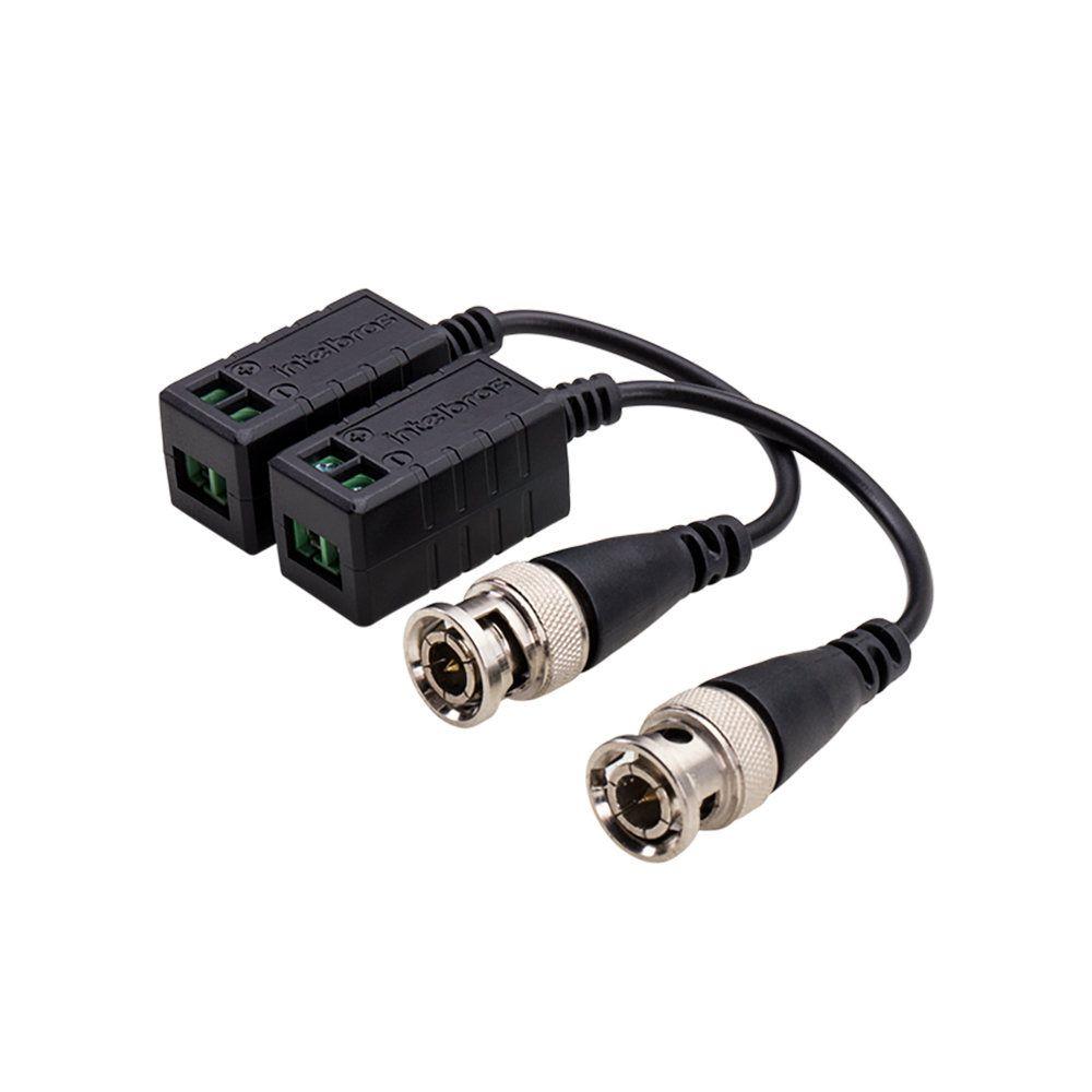 Balun Passivo Intelbras VB 501 P Conversor de Sinal de Vídeo