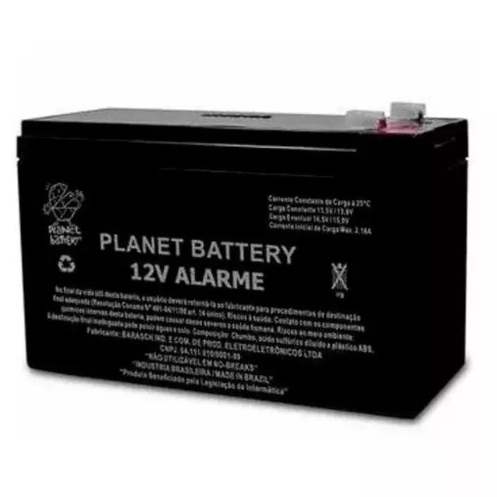 Bateria Selada Estacionária Planet Battery 12V Alarme e Cerca Elétrica