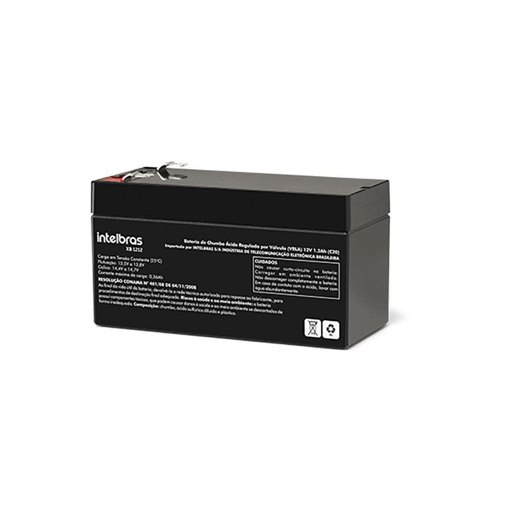 Bateria VRLA Intelbras XB 1212 12 V 1,2 Ah