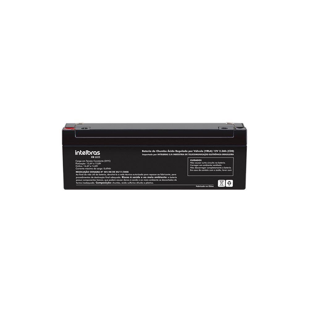 Bateria Intelbras XB 1223 12 V 2,3 Ah Vrla