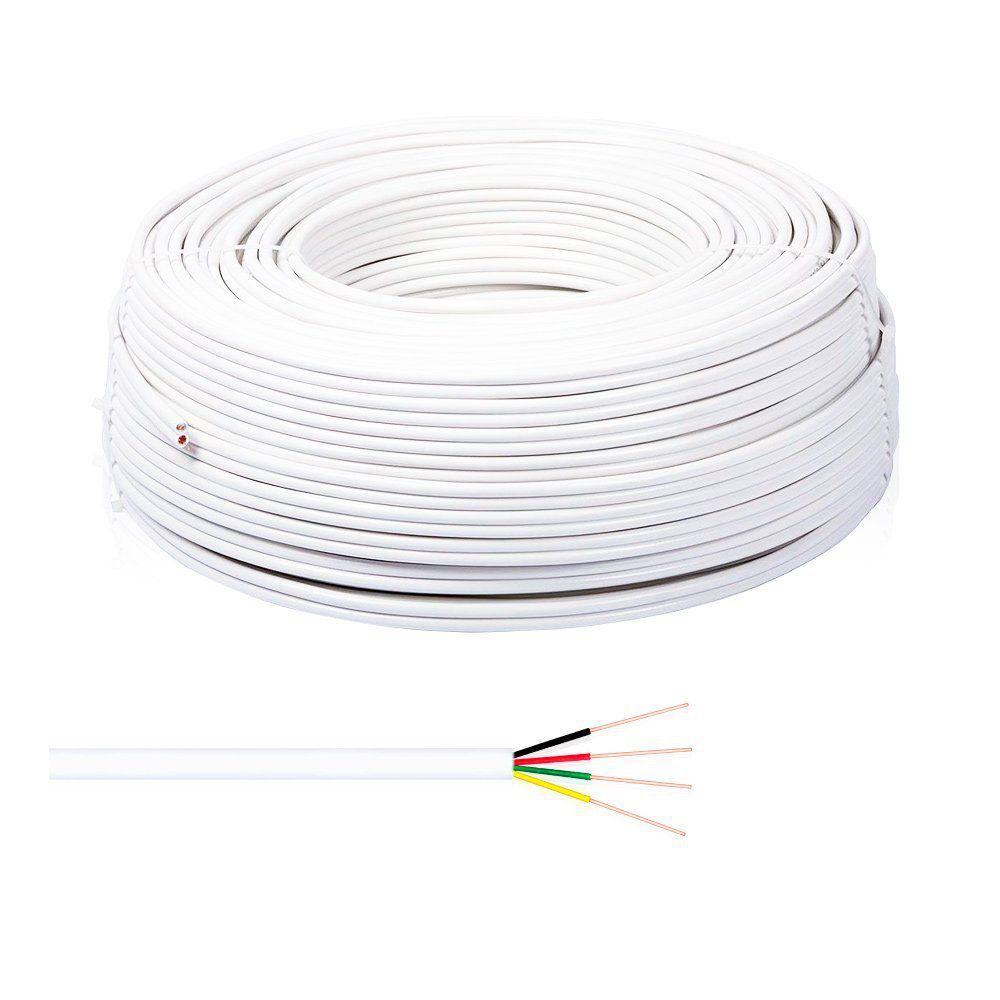 Cabo de Alarme Connect Cable 26 AWG 4x40 CCA 4 vias Multicor