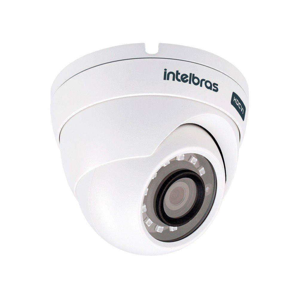 Câmera Intelbras VHD 3420 D 2k Dome HDCVI 4 MP 2.8 mm 20 mts
