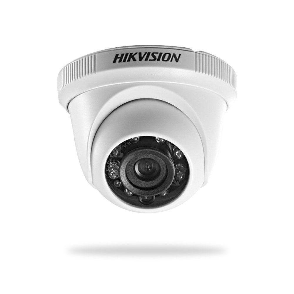 Câmera Dome HD 1080p 2MP 2.8mm DS-2CE56D0T-IRPF Hikvision