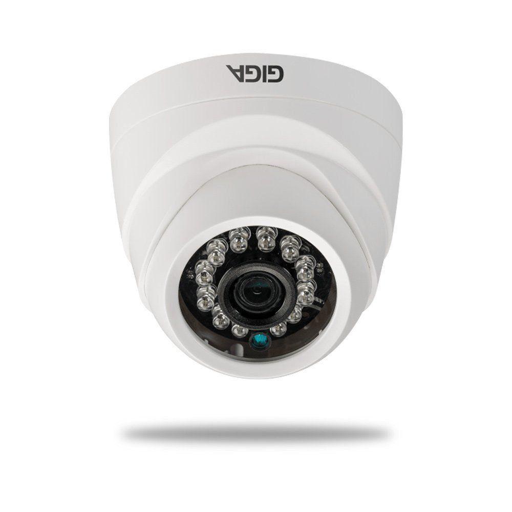 Câmera IP Giga GSIP1M20DB28 Dome 720p DWDR Ir 20m 1/4 2.8mm