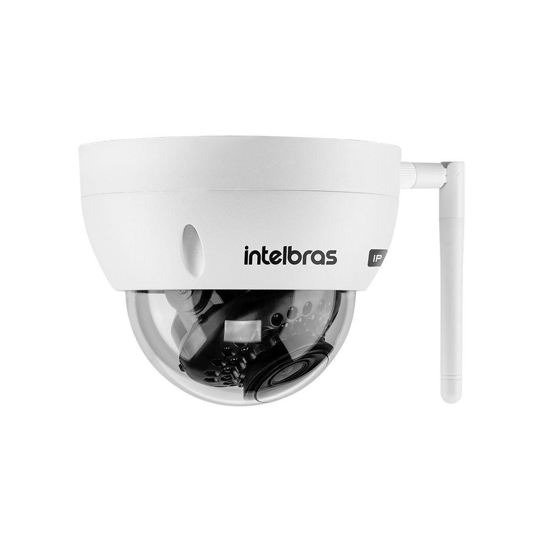 Câmera IP Wi-Fi Intelbras VIP 3430 D W 4 Megapixel 30 Metros