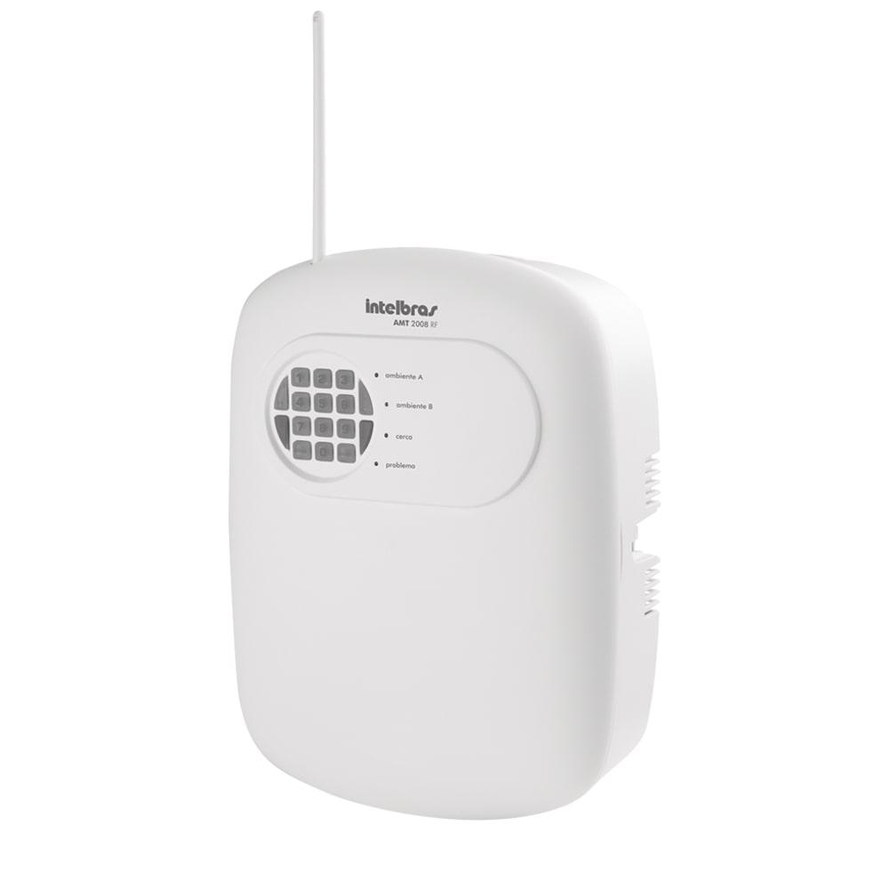 Central de Alarme Intelbras AMT 2008 RF Monitorada
