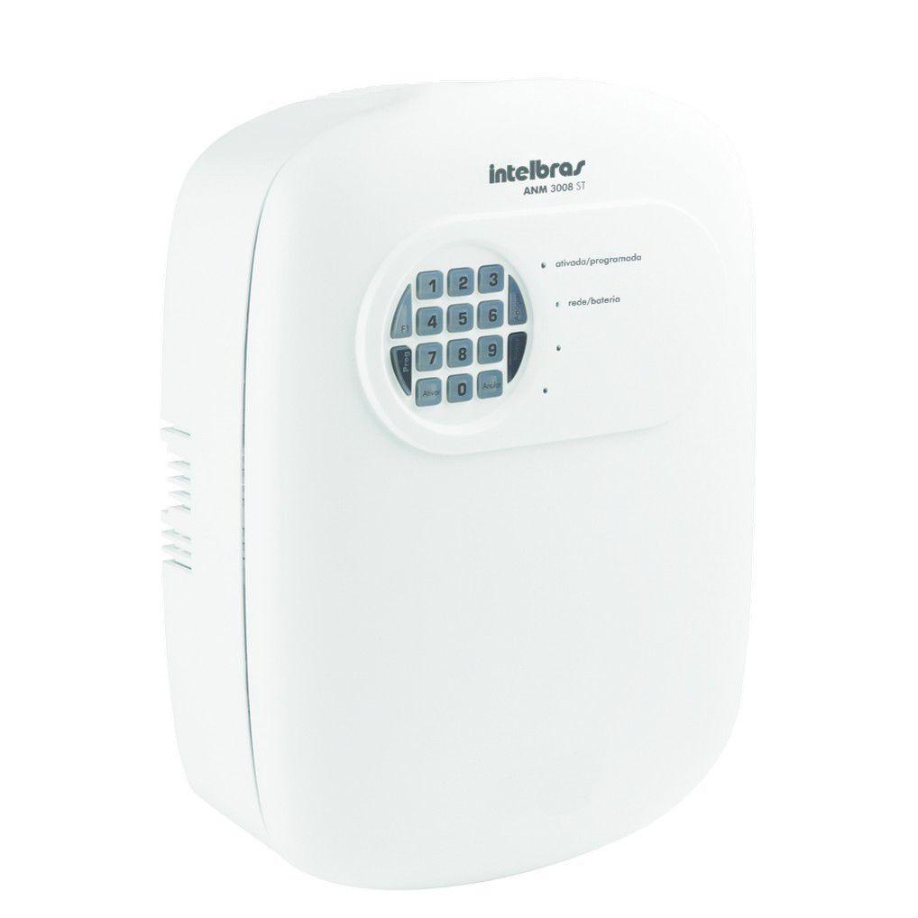 Central de Alarme Intelbras ANM 3008 ST não Monitorada