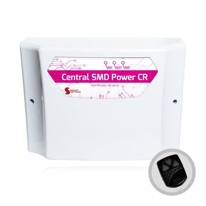 Central de Cerca Elétrica Securi Service GCP SMD Power CR