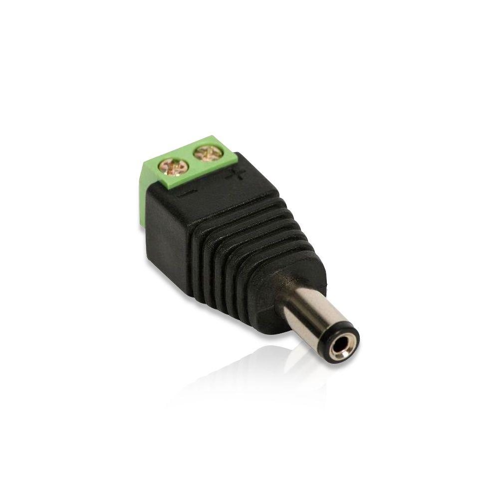 Conector P4 com Borne para Câmeras de Segurança Dvr