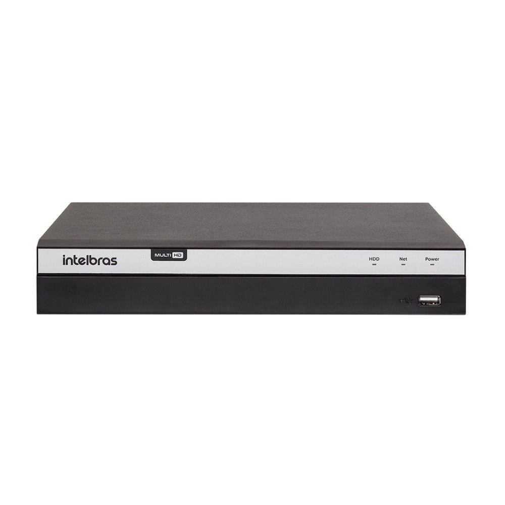 DVR Intelbras 8 Câmeras MHDX 3108 4MP Lite Gravador de Vídeo 8 Canais