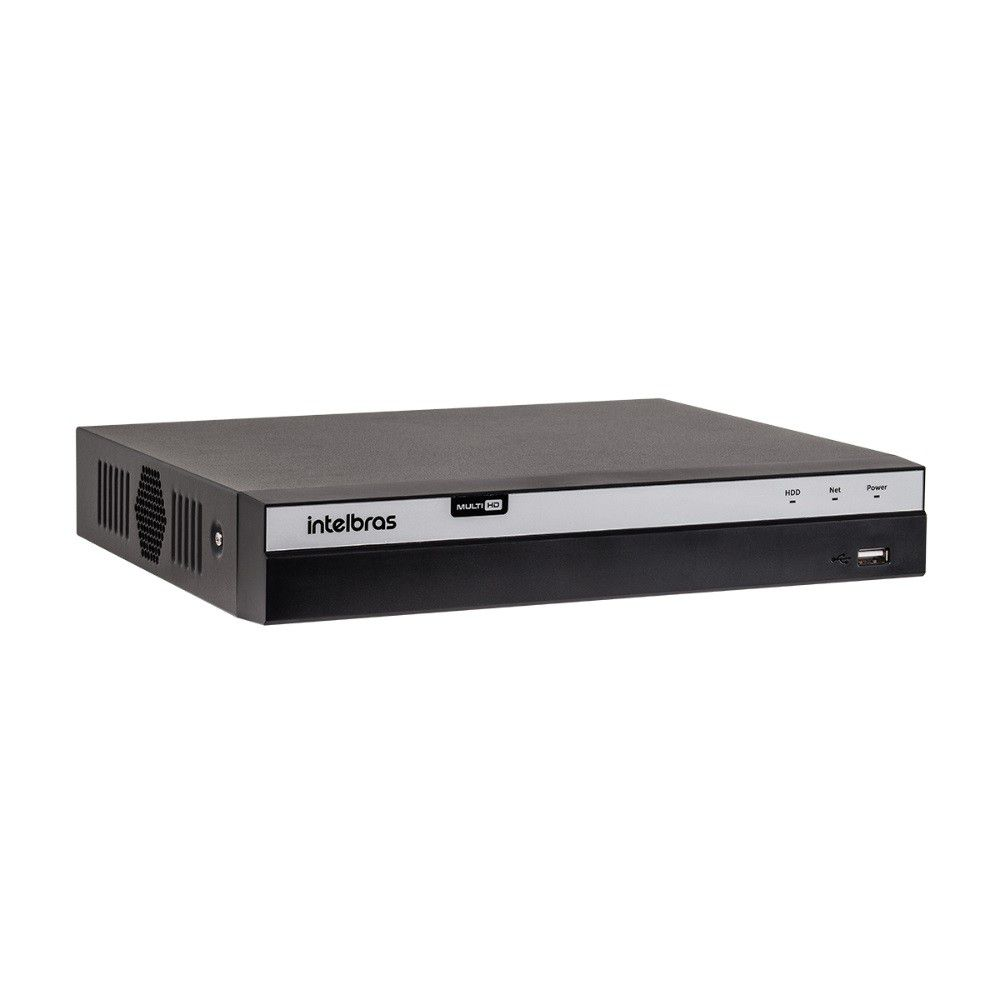 DVR Gravador de Vídeo Intelbras MHDX 3116 4MP Lite 16 Canais