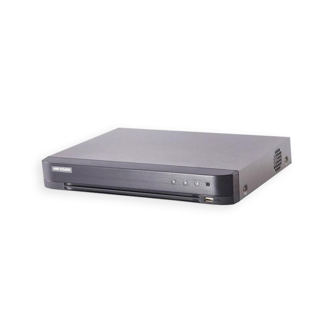 DVR Hikvision Gravador Digital de Vídeo 8 Canais Pentaflex 3MP DS-7208HQHI-K1