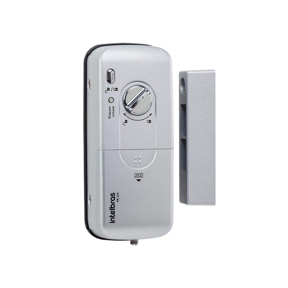 Fechadura Digital Intelbras FR 220 por Senha e Biometria