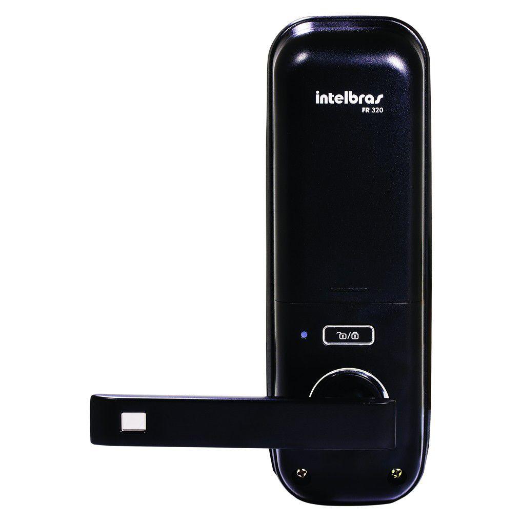 Fechadura Digital Intelbras FR 320 por Senha e Tags RFID