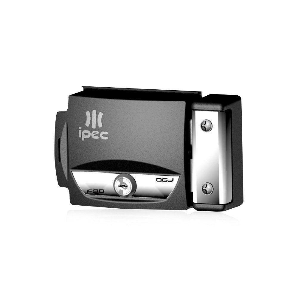 Fechadura Elétrica IPEC F90 12V para Portão Social