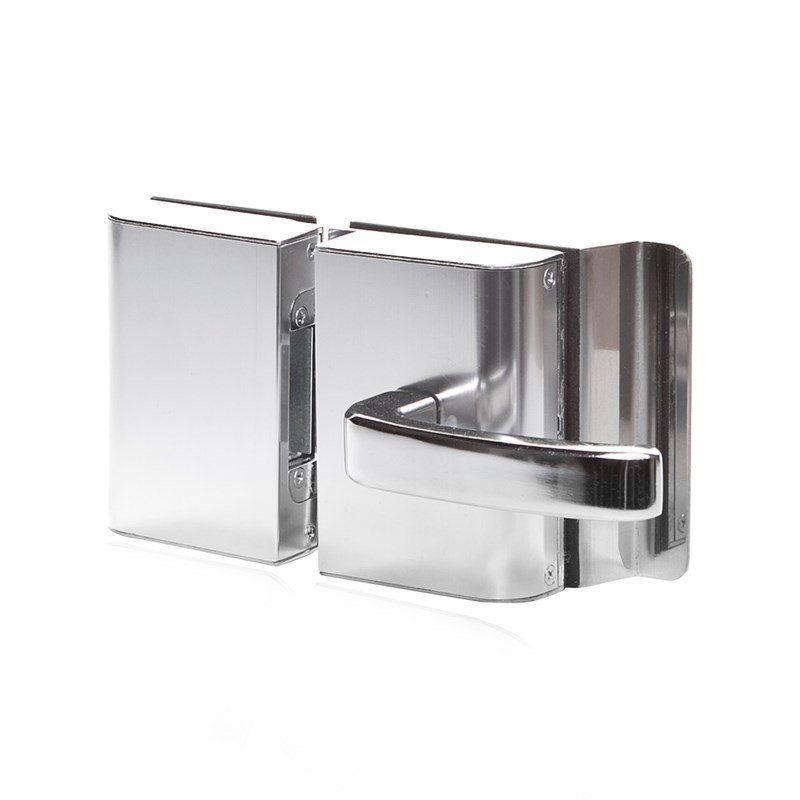 Fechadura Elétrica AGL PVR2E 2 Folhas Vidro/Vidro Externa