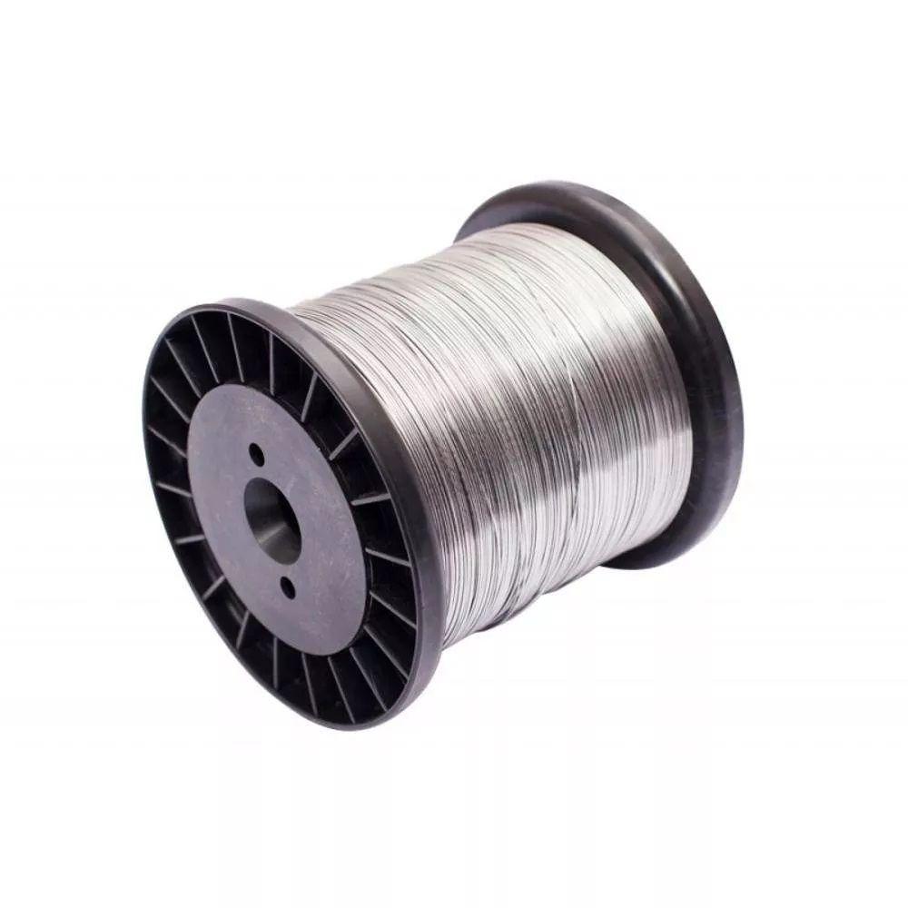 Fio de Alumínio para Cerca Elétrica 0,90 mm Carretel 500g
