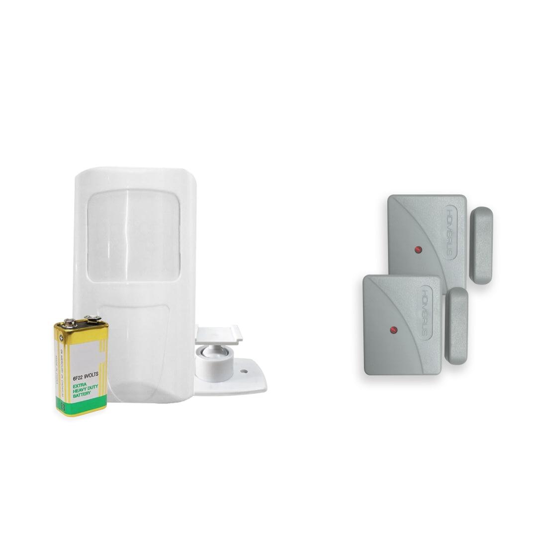 Kit Alarme Residencial Bopo 8 Sensores Sem Fio e Discadora