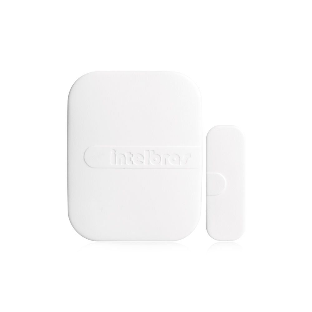 Kit Alarme Residencial Intelbras 2 Sensores Sem Fio Bateria