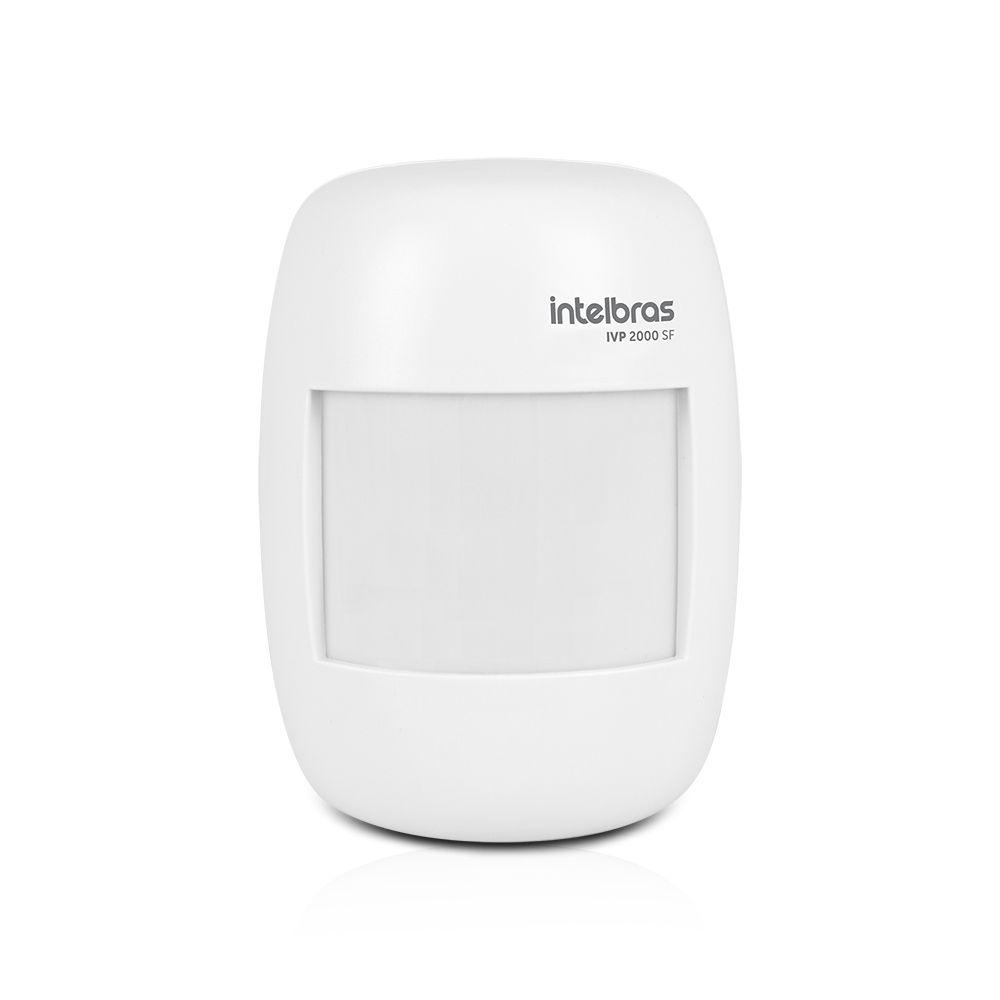 Kit Alarme Residencial Intelbras ANM 3004 ST Com 7 Sensores Com Fio