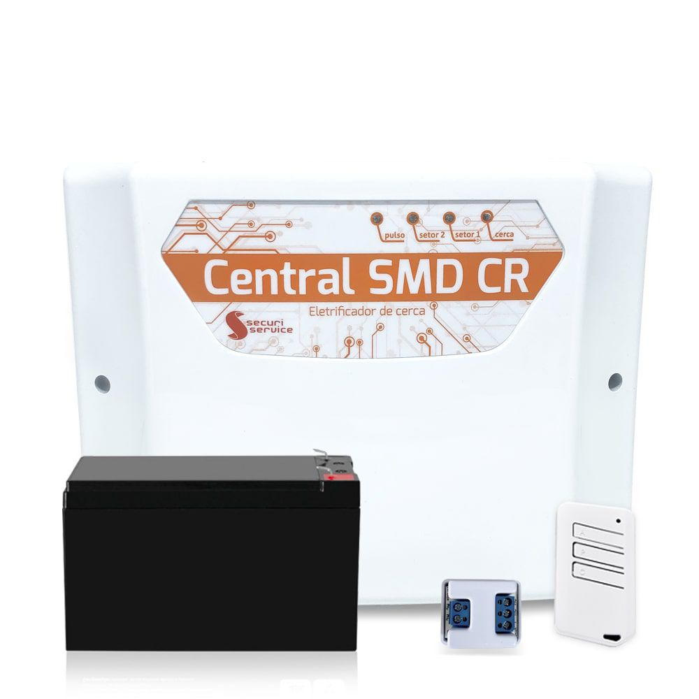 Kit Cerca Elétrica GCP Haste Estrela 4 Isoladores 30 Metros