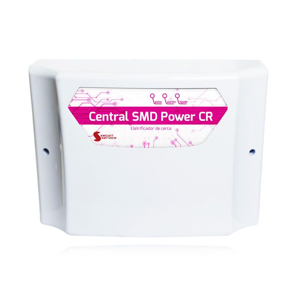 Kit Cerca Elétrica Industrial GCP Big Haste 6 Isoladores 40 Metros
