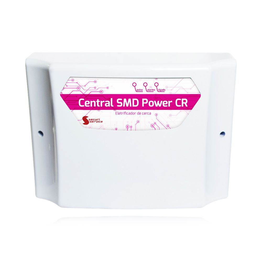 Kit Cerca Elétrica Industrial GCP Big Haste 6 Isoladores 80 Metros