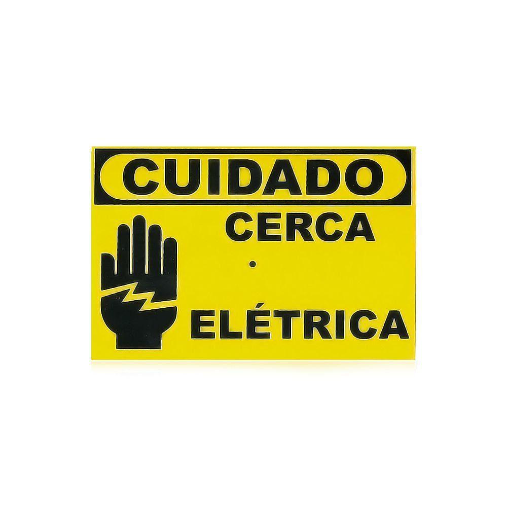 Kit Cerca Elétrica Intelbras Haste Estrela 4 Isoladores 70 Metros
