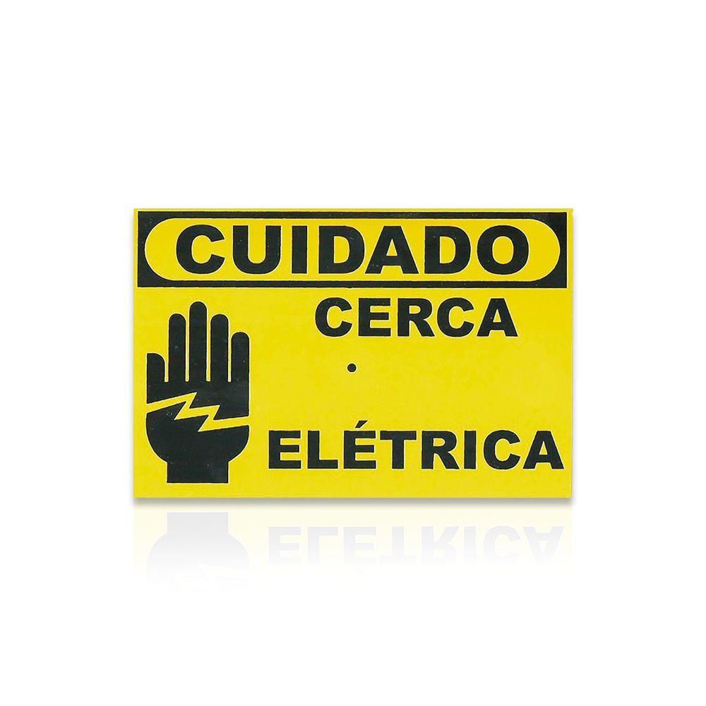Kit Cerca Elétrica Intelbras Haste Estrela 6 Isoladores 70 Metros