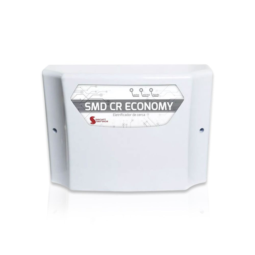 Kit Cerca Elétrica SMD CR Economy 120 Metros de Muro