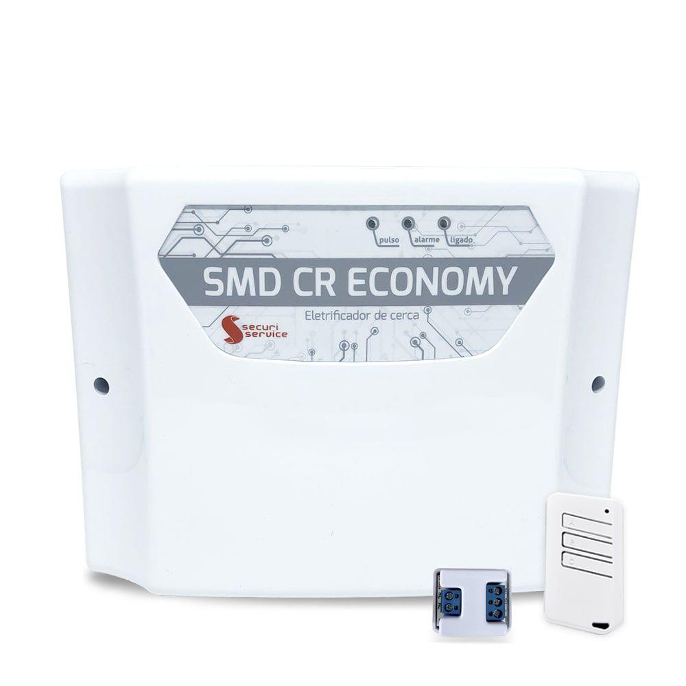Kit Cerca Elétrica SMD CR Economy 50 Metros de Muro