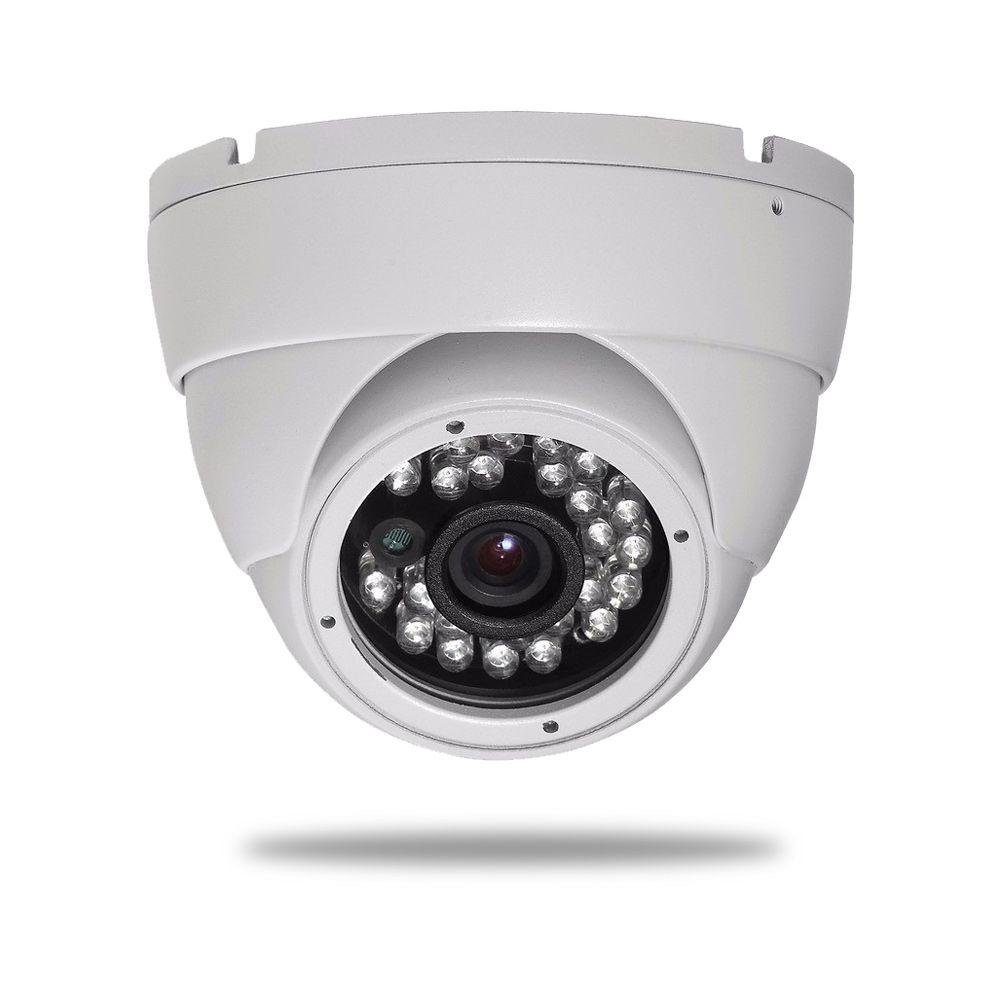 Kit CFTV 16 Câmeras Dome HB 720p DVR Intelbras 16 Canais