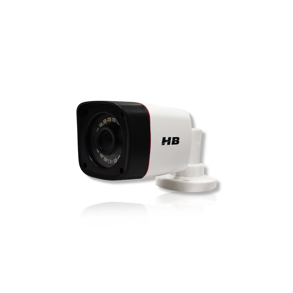 Kit CFTV 5 Câmeras Bullet HB 720p DVR Intelbras 8 canais
