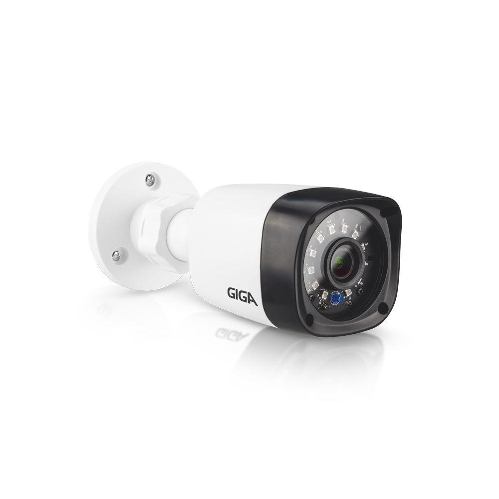 Kit CFTV Giga Full HD 8 Câmeras Bullet 1080p HVR 8 Canais