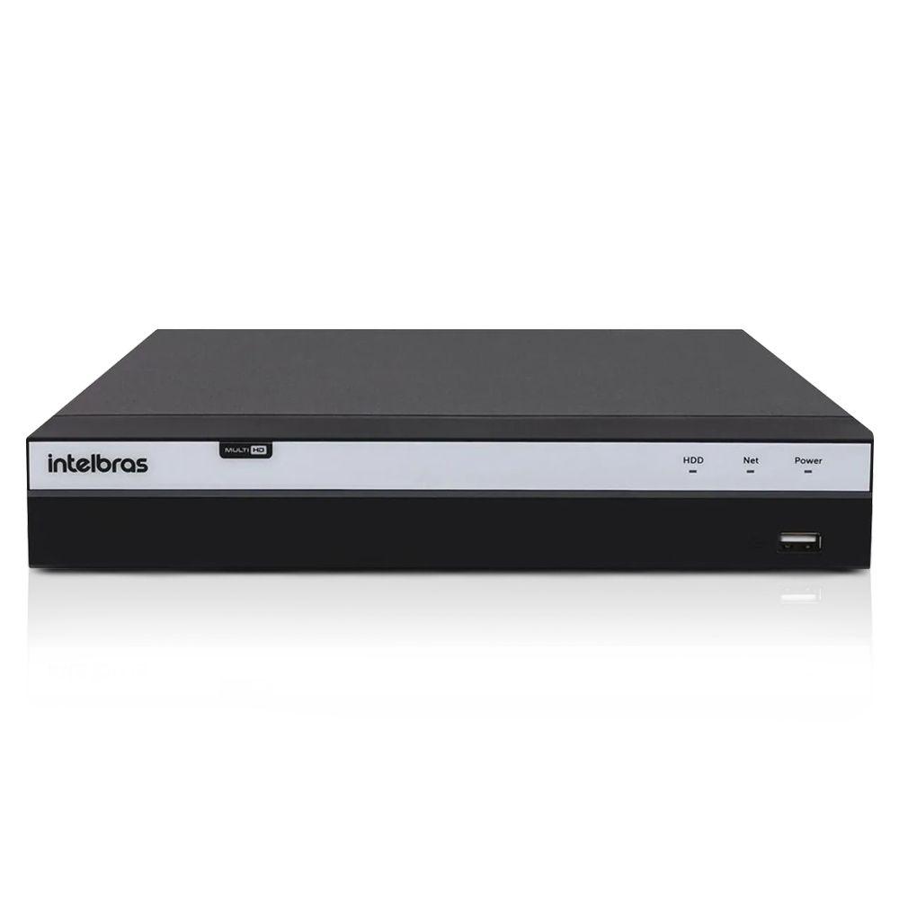 Kit CFTV Intelbras Full HD 16 Câmera VHD 1220B DVR MHDX 3116