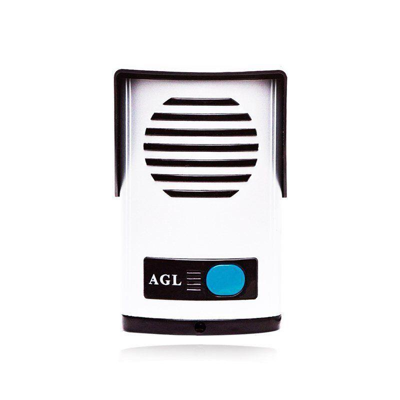 Kit Interfone Porteiro AGL + 01 Extensão + Fechadura e Cabo
