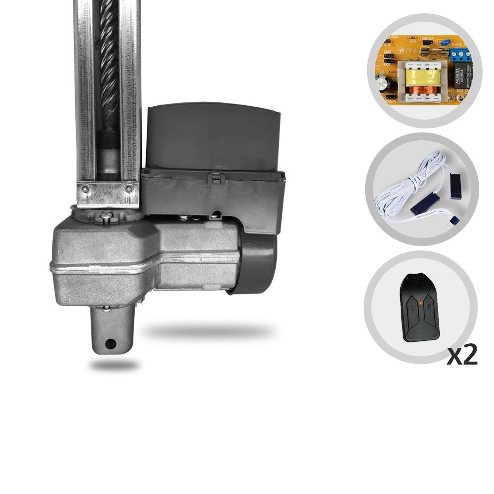 Kit Motor de Portão Basculante PPA Levante Robust 1/4 HP