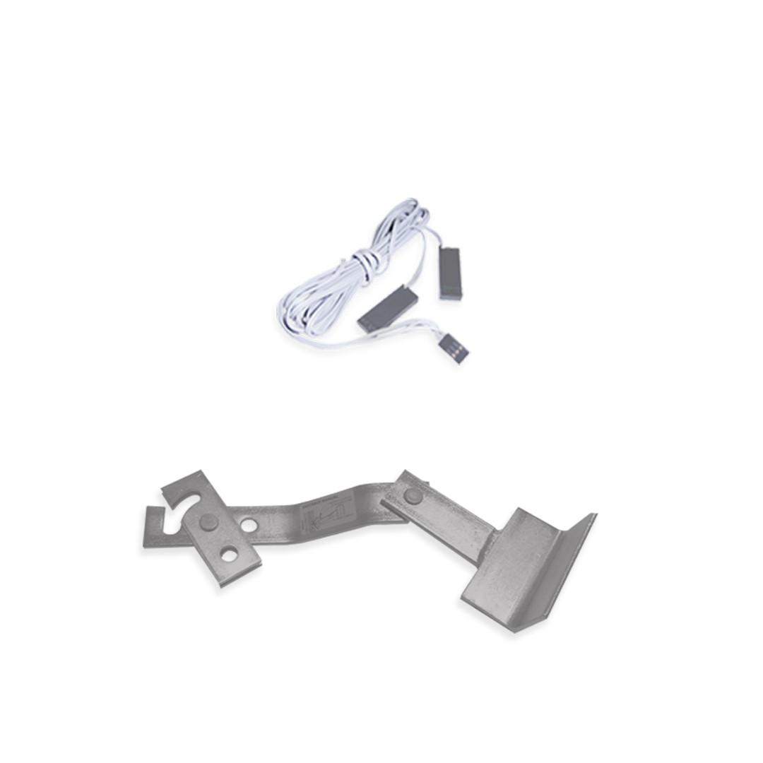 Kit Motor de Portão Basculante Peccinin Bravo I-HSC 1/2 HP